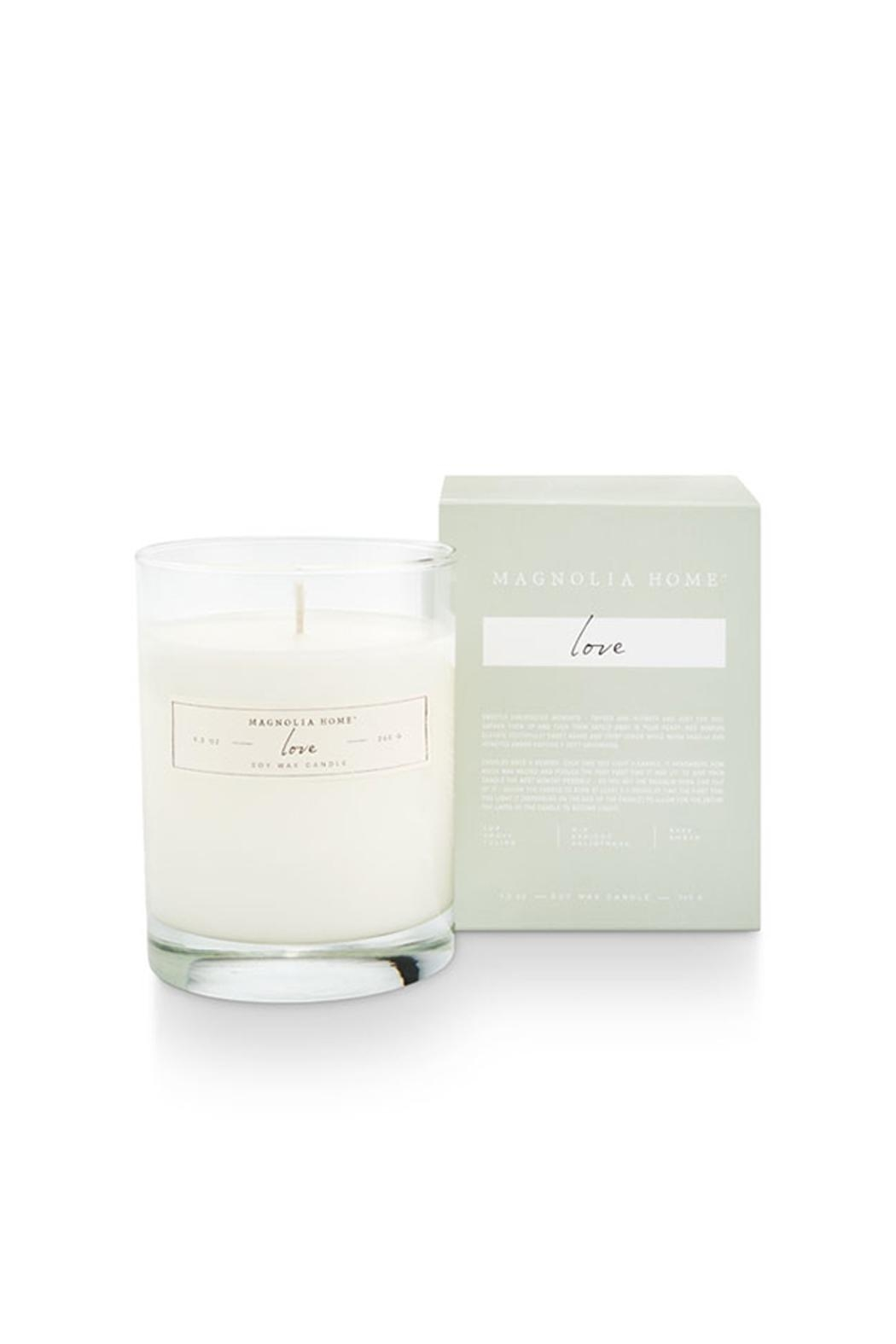 Magnolia Home Boxed Glass Candle - Front Cropped Image