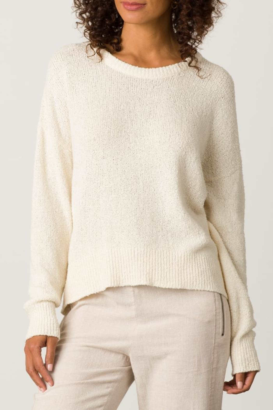 Margaret O'Leary Boxy Crew Neck - Front Cropped Image