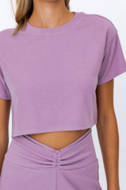 Le Lis Boxy Crop Top - Back cropped