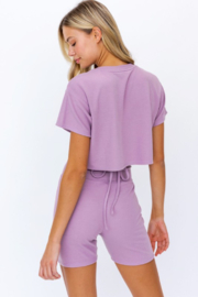 Le Lis Boxy Crop Top - Side cropped