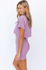 Le Lis Boxy Crop Top - Front full body