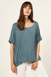 Grade & Gather  Boxy Modal Tee - Front cropped