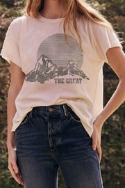 The Great Boxy Mountain Tee - Front cropped