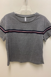 Six Fifty Boxy Stripe TShirt - Front cropped