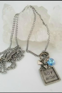 Peridottie Boy Mom Necklace - Product List Image
