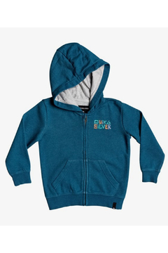 Shoptiques Product: Bigger Picture Zip-Up Hoodie