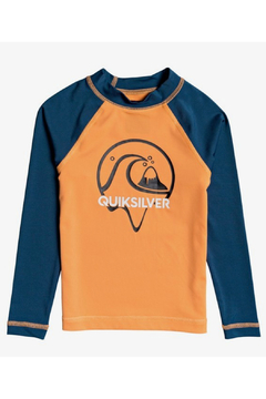 Shoptiques Product: Boy's 2-7 Bubble Dreams Long Sleeve UPF 50 Rash Vest