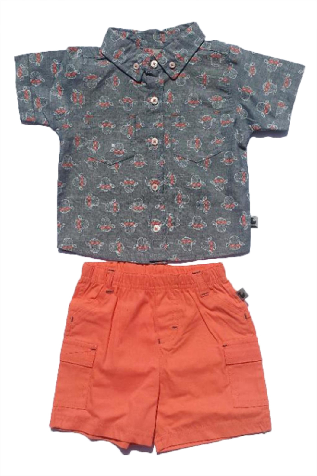 Duck Duck Goose Boy Shorts Set - Front Cropped Image