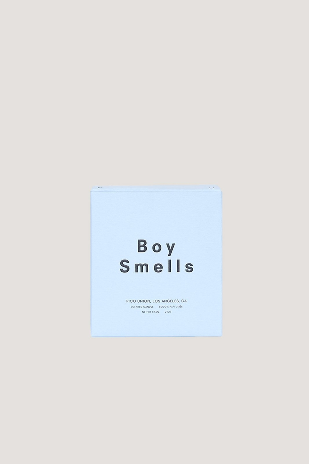 Boy Smells Dynasty Candle - Front Full Image