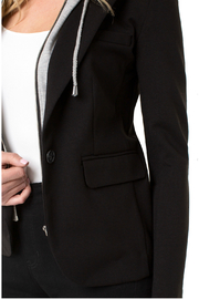 Liverpool Blazer With Hoodie - Side cropped