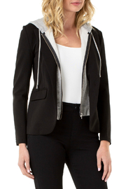 Liverpool Boyfriend blazer with hood - Product Mini Image