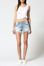 Hidden Jeans Boyfriend Cut-Off Short - Product Mini Image