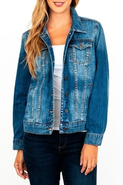 Kut from the Kloth Boyfriend Denim-Jacket - Product Mini Image