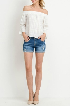Shoptiques Product: Boyfriend Denim Shorts