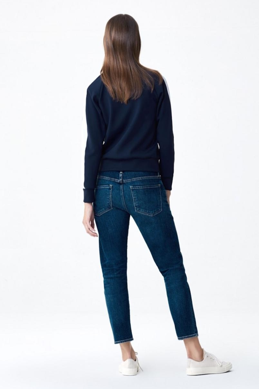 Citizens of Humanity Boyfriend Jeans - Front Full Image