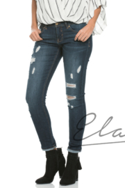Elan Boyfriend Jeggings - Product Mini Image