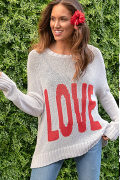 Wooden Ships Boyfriend Love Crew Sweater - Product List Image