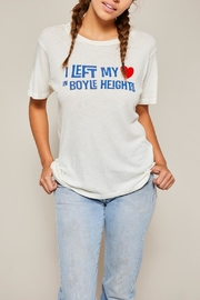 All Things Fabulous Boyle Heights Tee - Front full body
