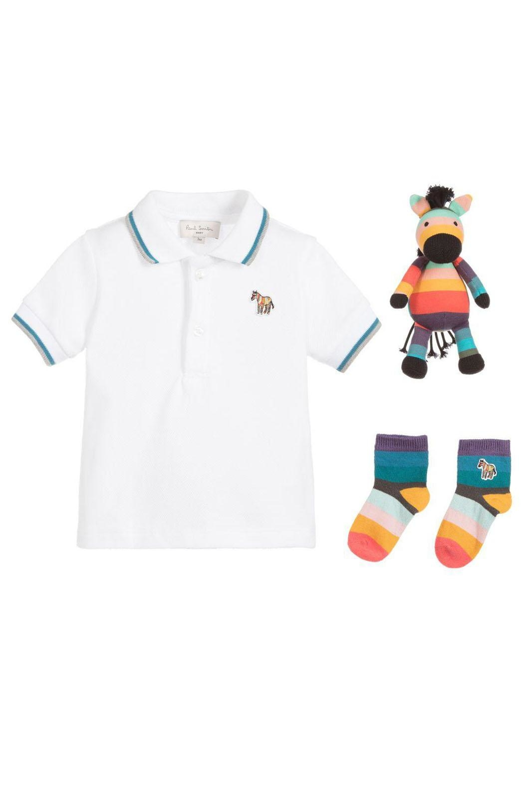Paul Smith Junior Boys 3-Piece Gift-Set - Front Cropped Image