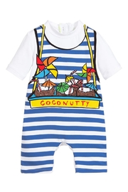 Stella McCartney Kids Boys 'Coconutty' Swimsuit - Front cropped
