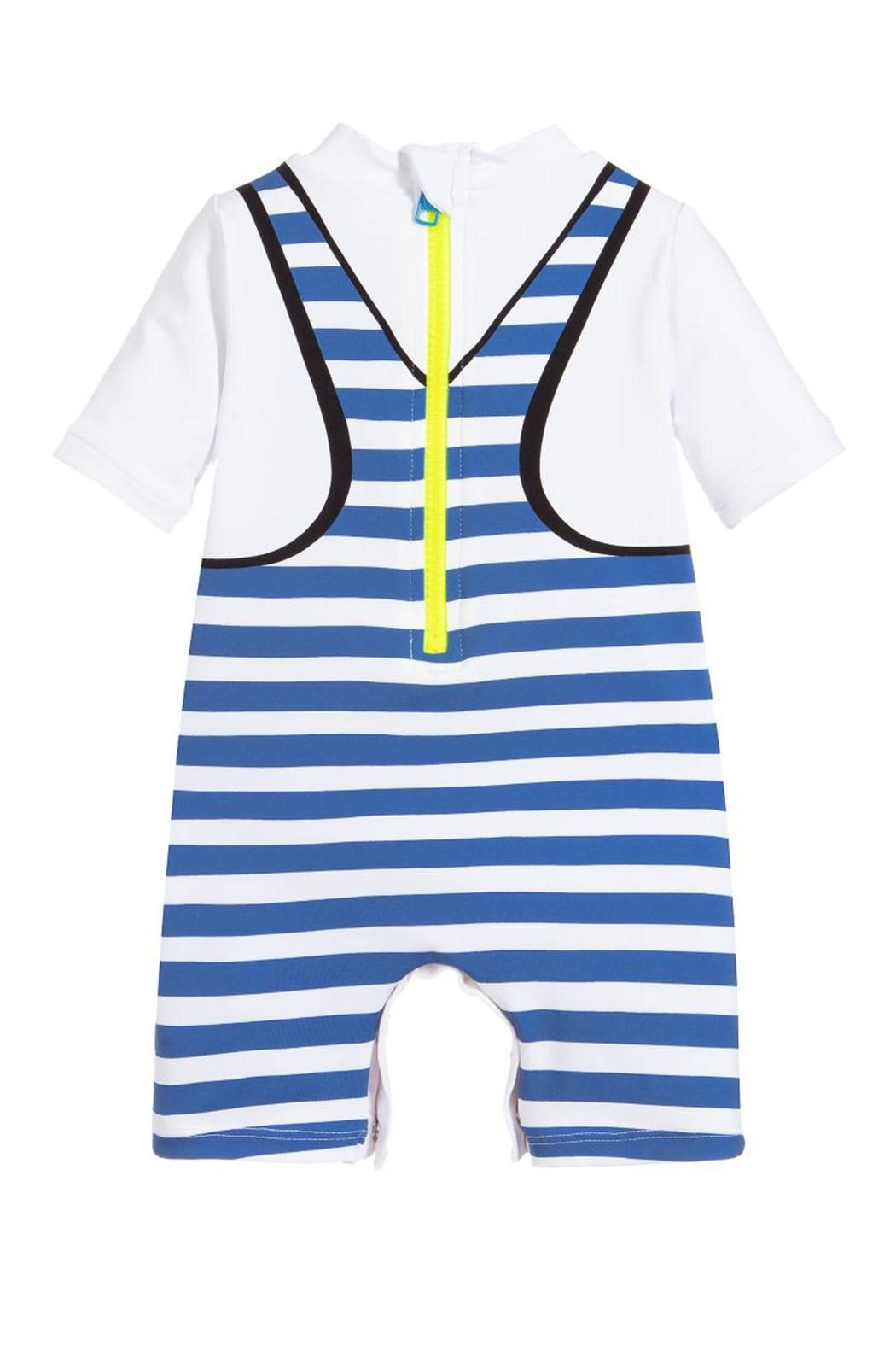 Stella McCartney Kids Boys 'Coconutty' Swimsuit - Side Cropped Image