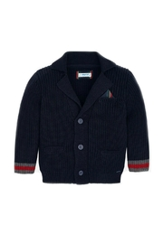 Mayoral Boys Elbow-Patch Cardigan - Front cropped