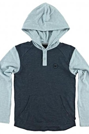 O'Neill Boys Hooded Henley - Product Mini Image