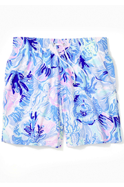 Lilly Pulitzer Boys Junior Capri Swim Trunks - Product Mini Image