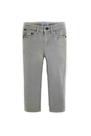 Mayoral Boys Twill-5-Pocket Trousers - Front cropped