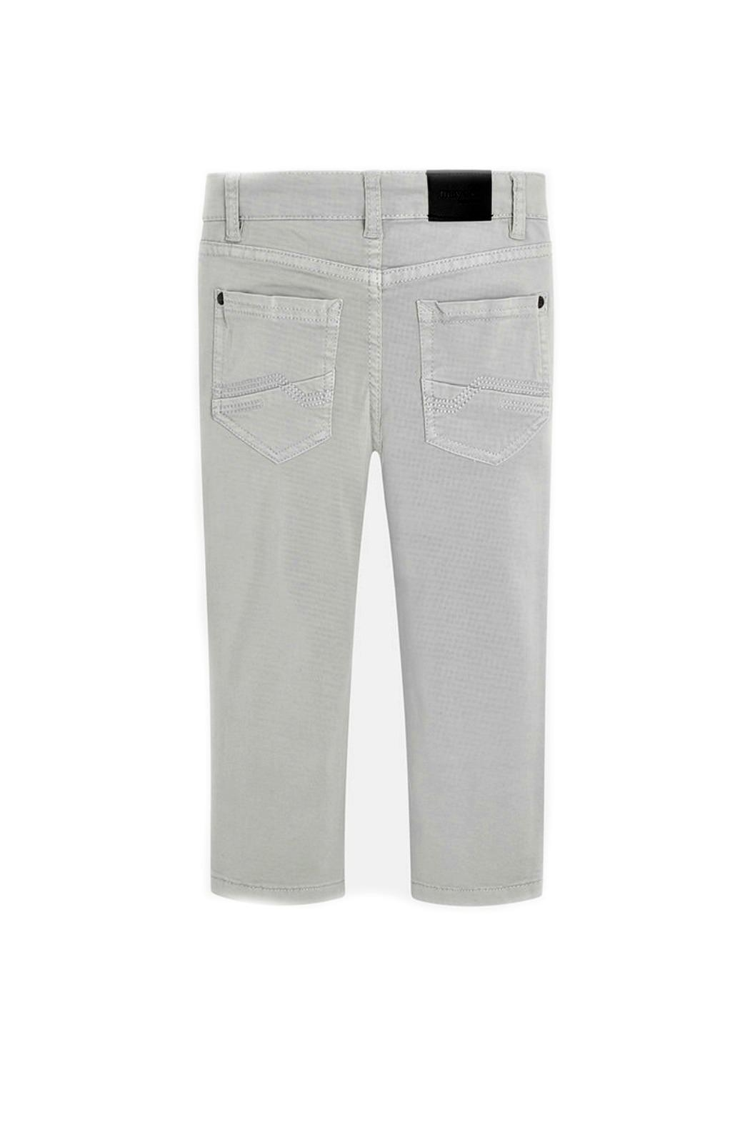 Mayoral Boys Twill-5-Pocket Trousers - Front Full Image