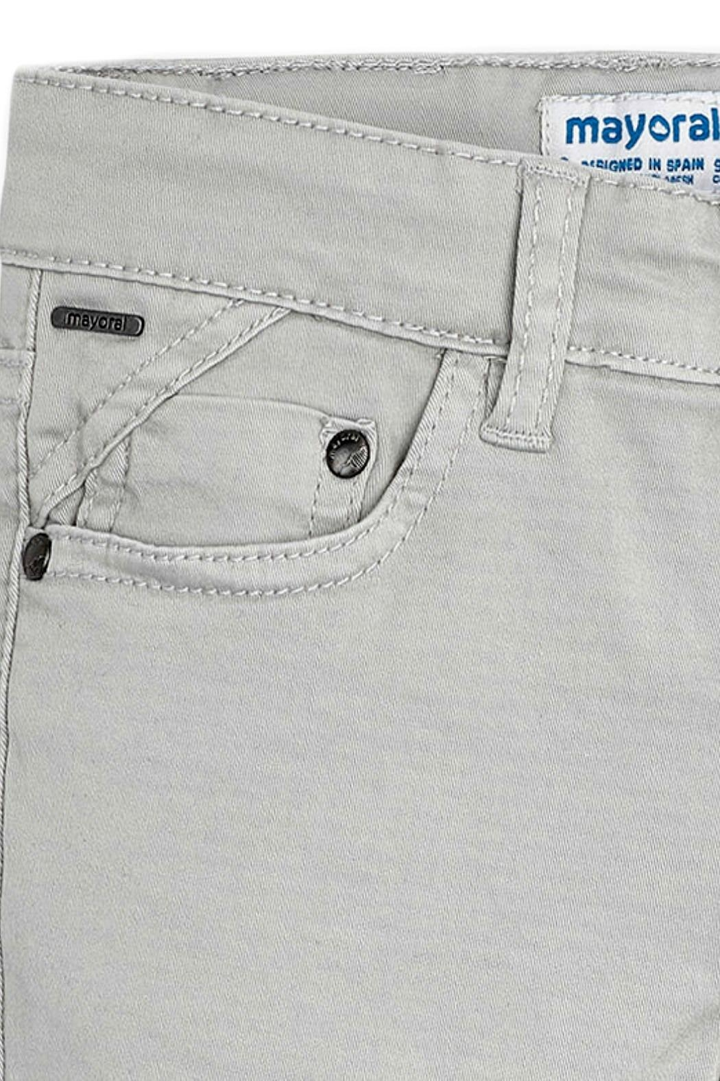 Mayoral Boys Twill-5-Pocket Trousers - Side Cropped Image