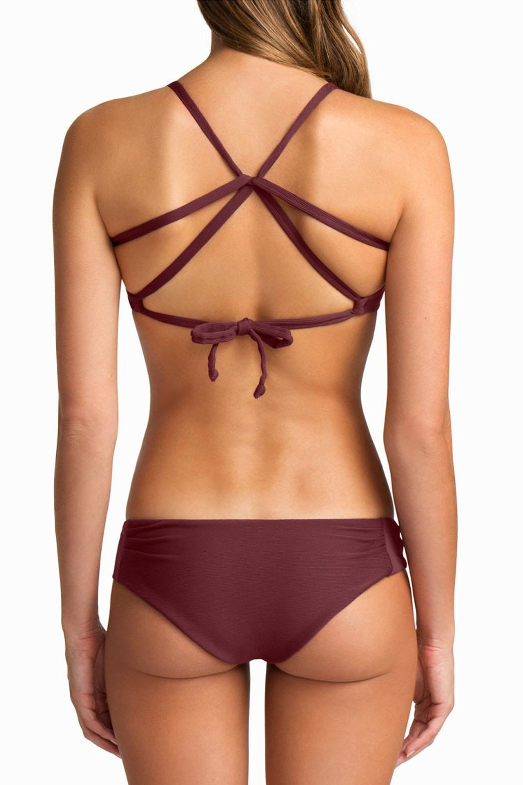 boys + arrows Dylan Top Burgundy - Side Cropped Image