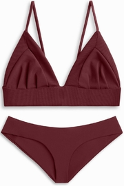 boys + arrows Yaya Bottom Burgundy - Front cropped