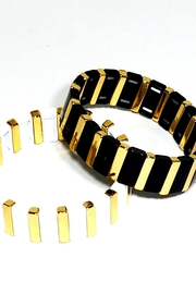 Bozkurt Colorblock Stretch Bracelet - Front cropped