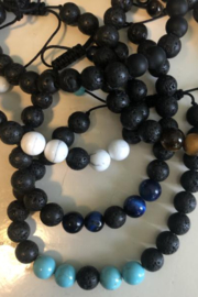 Kindred Mercantile Bracelet lava rock essential oil beads - Front cropped