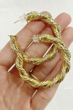 Bracha Harlow Rope Hoops - Alternate List Image