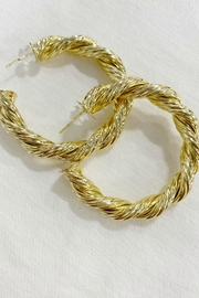 Bracha Harlow Rope Hoops - Product Mini Image