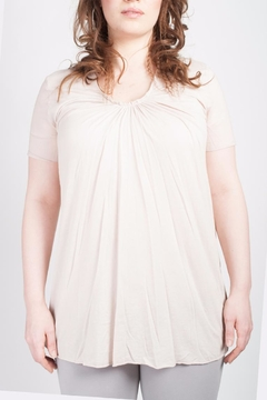 Shoptiques Product: Ruffled V Neck Shirt