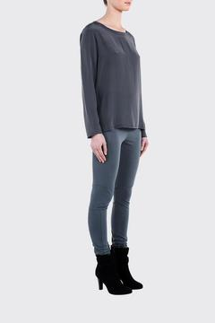 Shoptiques Product: Silk Long Sleeve Top