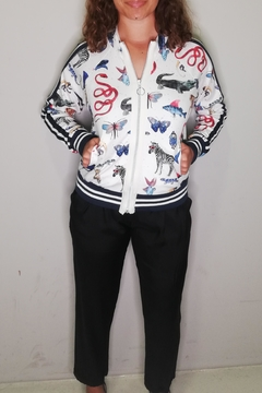 Shoptiques Product: Zoo Jersey Bomber