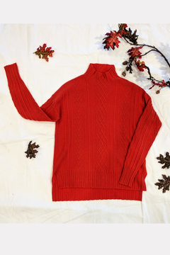 Shoptiques Product: Braided Cashmere Sweater