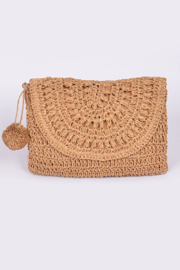 3AM FOREVER Braided Net Clutch - Product Mini Image