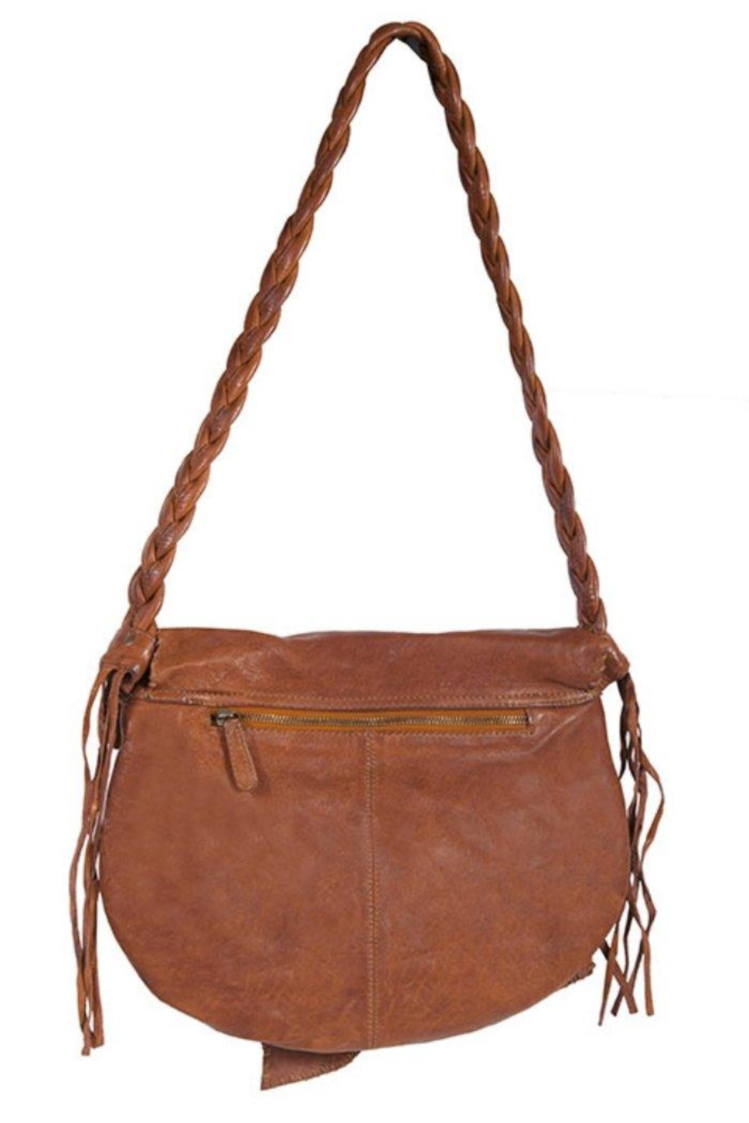 Scully Braided Strap Crossbody - Front Full Image
