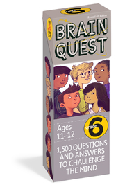 Workman Publishing Brain Quest 6th Grade Questions - Product Mini Image