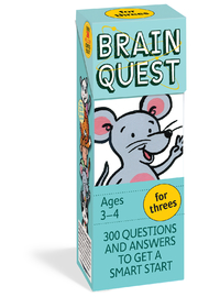 Workman Publishing Brain Quest for Threes - Product Mini Image