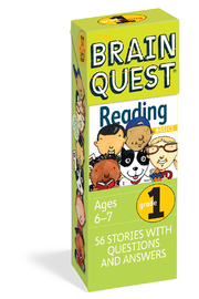 Workman Publishing Brain Quest Grade 1 Reading - Product Mini Image
