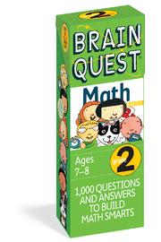 Workman Publishing Brain Quest Grade 2 Math - Product Mini Image