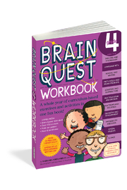 Workman Publishing Brain Quest Workbook Grade 4 - Product Mini Image