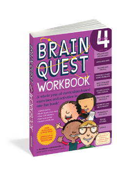 Workman Publishing Brain Quest Workbook Grade 4 - Product List Image