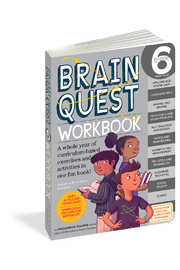 Workman Publishing Brain Quest Workbook Grade 6 - Product Mini Image
